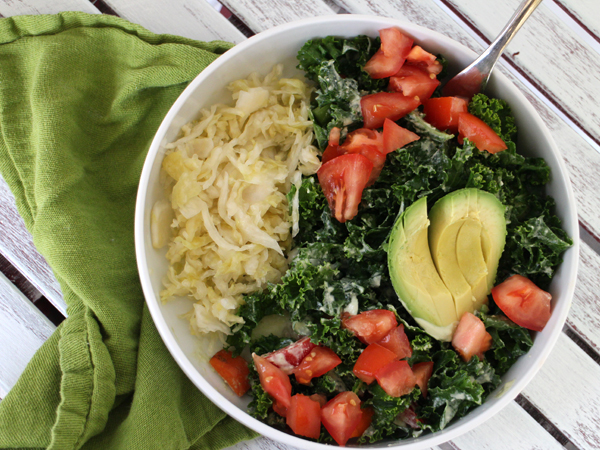 Add sauerkraut to your diet for healthy probiotics!