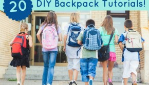 20 DIY Backpack Tutorials!
