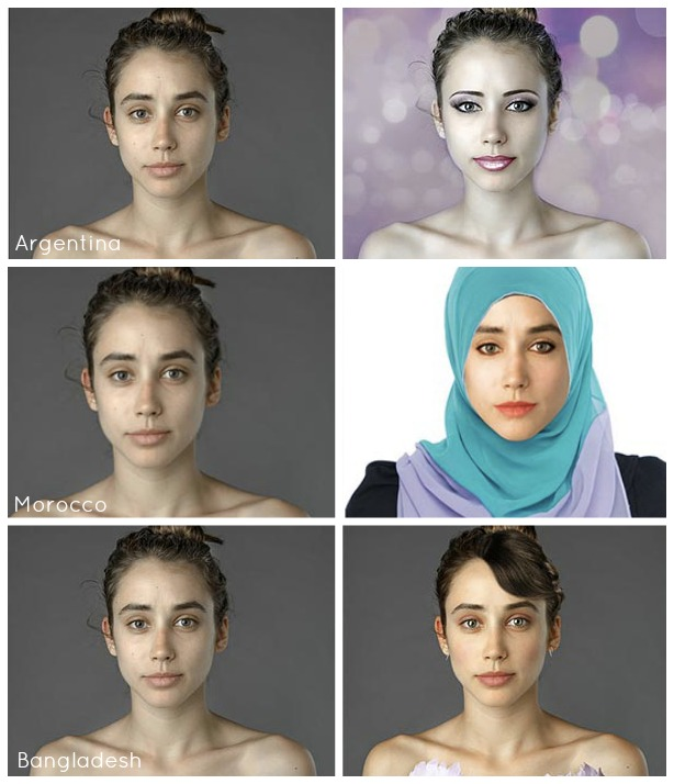 87 Best Beauty Fashion Around The World Images On: Before And After Project Looks At International Standards