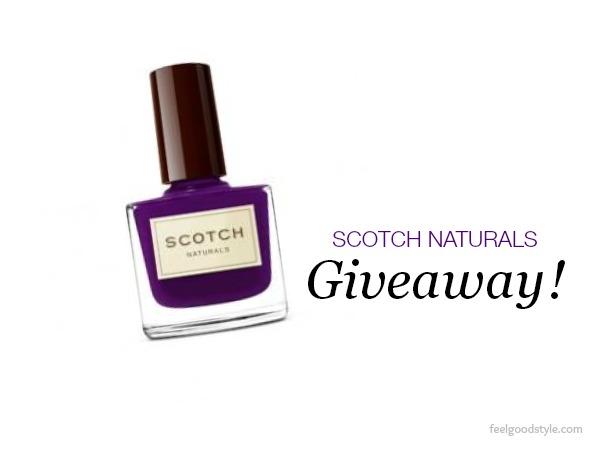 Scotch Naturals nail polish giveaway