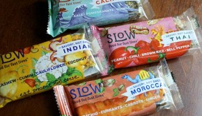 Slow Food for Fast Lives Breakfast Bars
