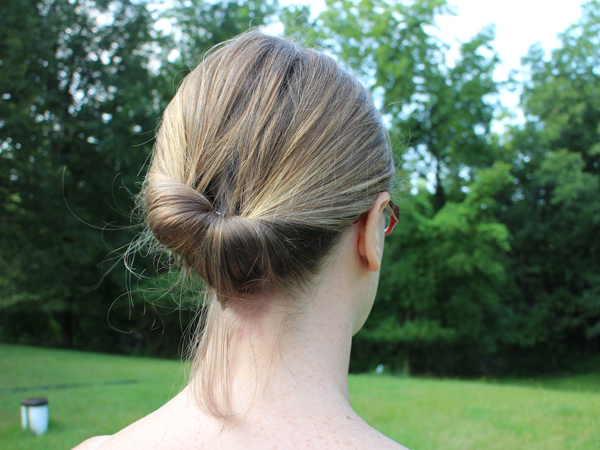 Easy Up-do that anyone can do in seconds