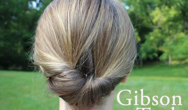 Easy hair tutorial: The Gibson Tuck