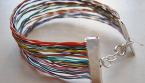 Spotted: Upcycled Jewelry from Old Electronics