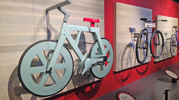Bike Chic: Cardboard Bicycle