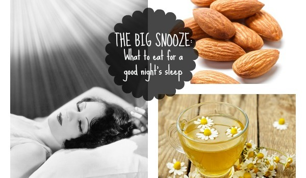 What to eat for a good night's sleep