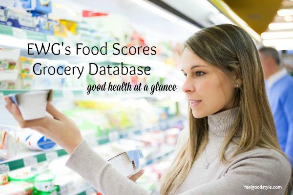 EWG Food Scores