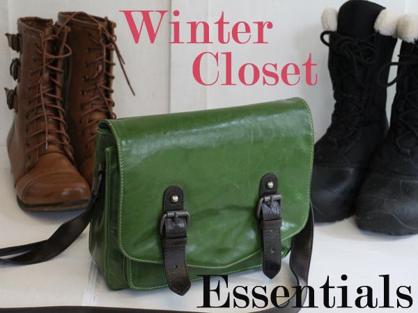 5 Vegan Winter Closet Essentials