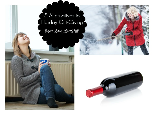 Alternatives to Holiday Gift-Giving