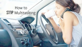Multitasking Woman via Shutterstock