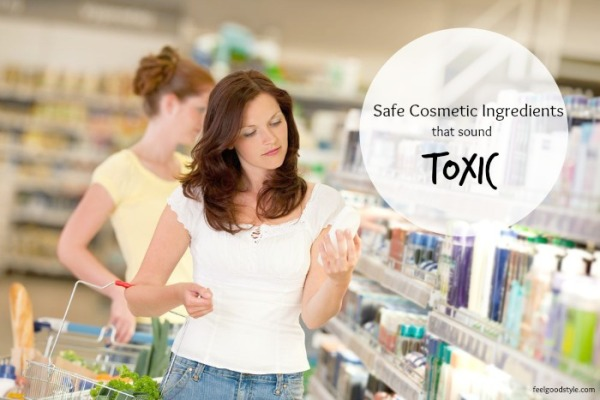 Safe Cosmetic Ingredients That Only *Sound* Toxic