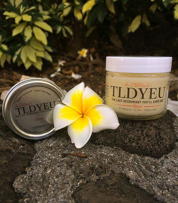 Natural Deodorant Review: TLDYEU