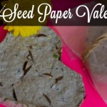 Valentine Ideas: Seed Paper Hearts