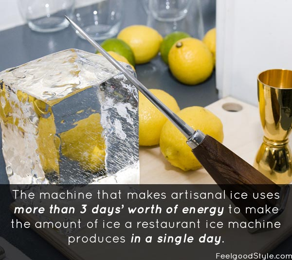 Artisanal Ice: Is a better cocktail worth it?