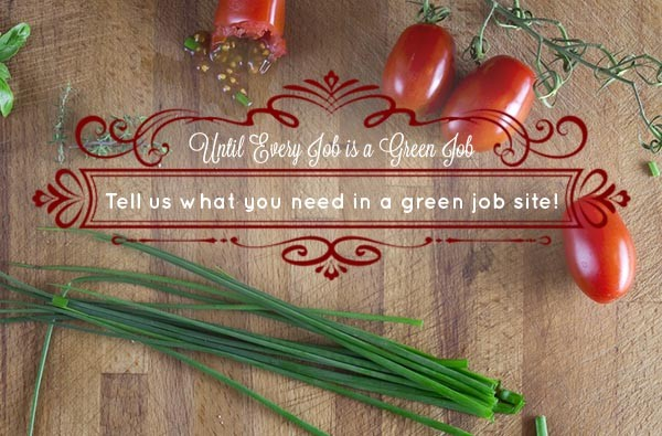 Get Heard :: What does your ideal green jobs website look like?