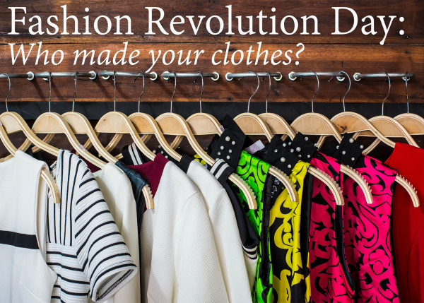 "Fashion Revolution Day on FeelGood Style - Far from being a frivolous fashion holiday, Fashion Revolution Day on April 24th encouraged fashionistas (and consumers in general) to ask, ""who made my clothes?"""
