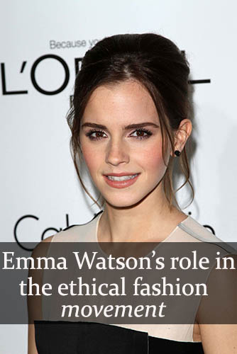 Emma Watson and sustainable fashion