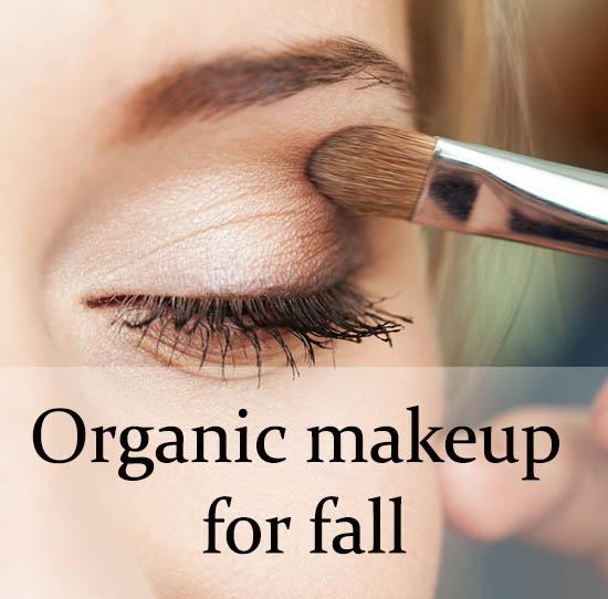 Best organic makeup for fall 2015!