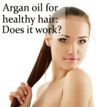 argan oil for healthy hair