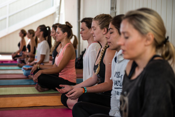 meditation at wanderlust by Ali Kaukas for Wanderlust Festival