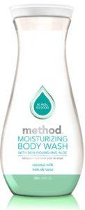 method moisturizing body wash