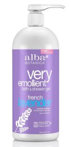 alba botanica body wash