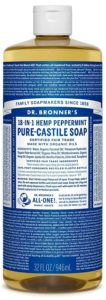 dr. bronner's peppermint soap