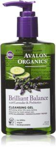 avalon organics lavender cucumber face wash