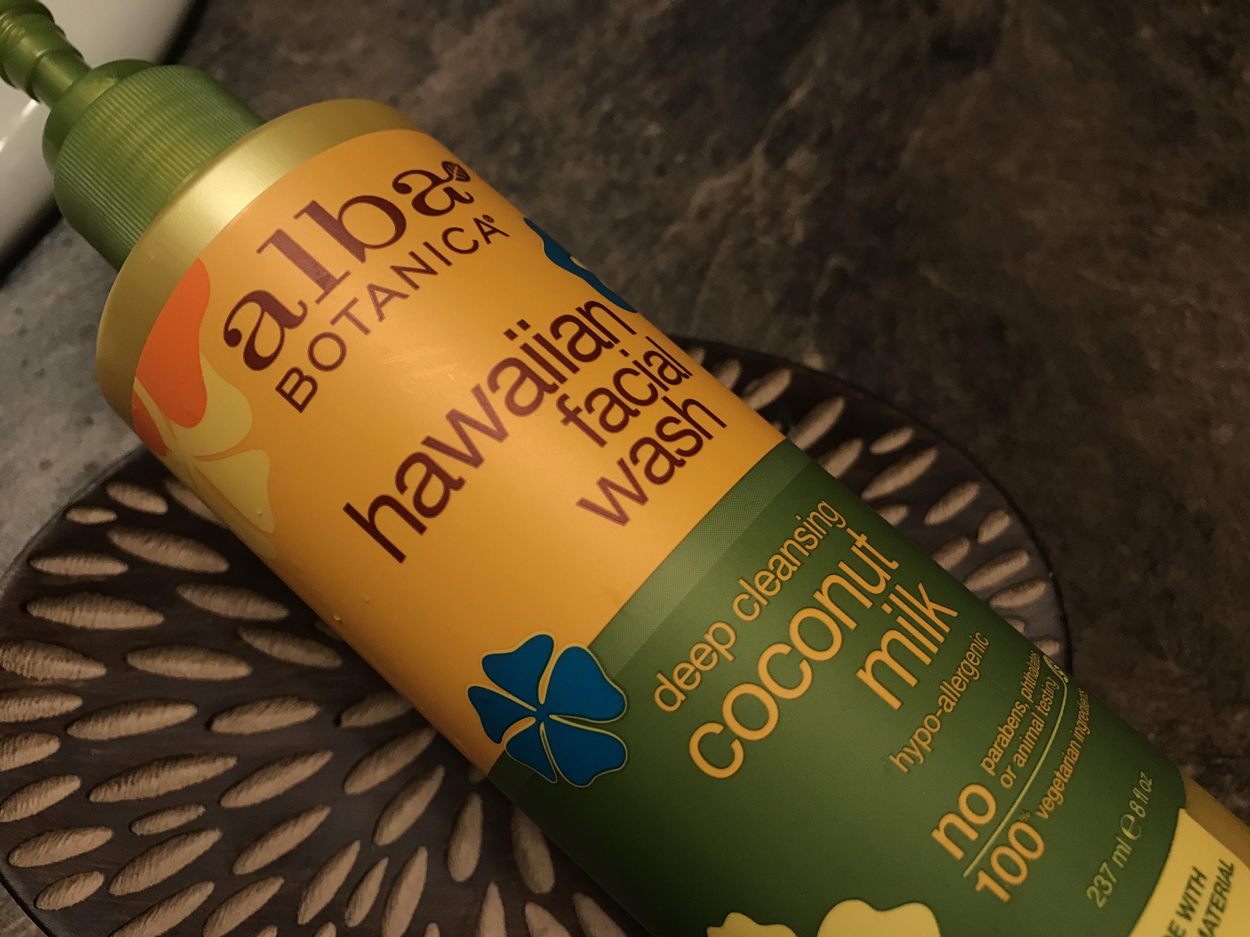 alba botanica face wash