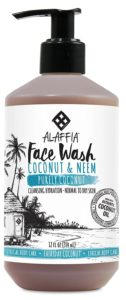 alaffia face wash