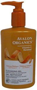 avalon organics face wash