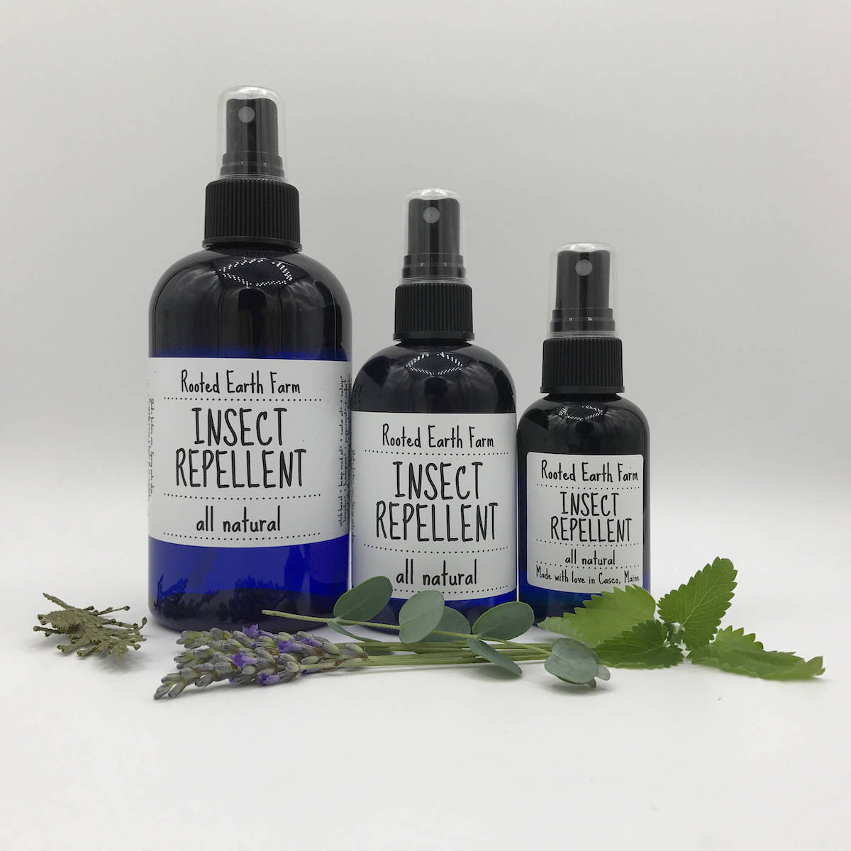 rooted earth insect repellent