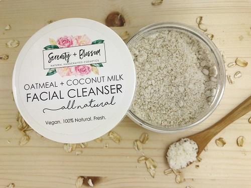 oatmeal coconut milk mask