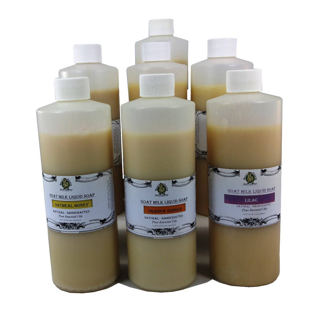 goats milk liquid soap