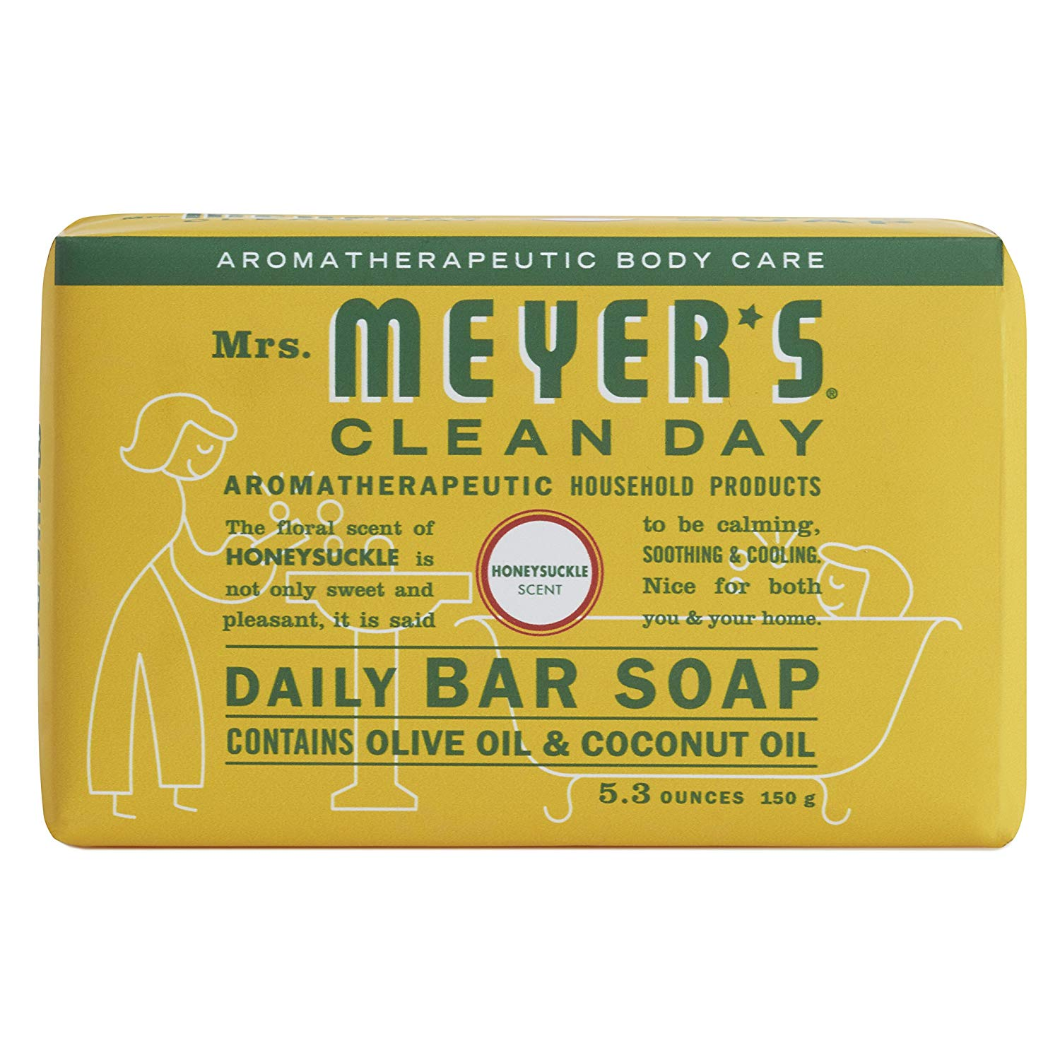 meyer's clean day bar soap