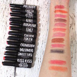 tart lipsticks